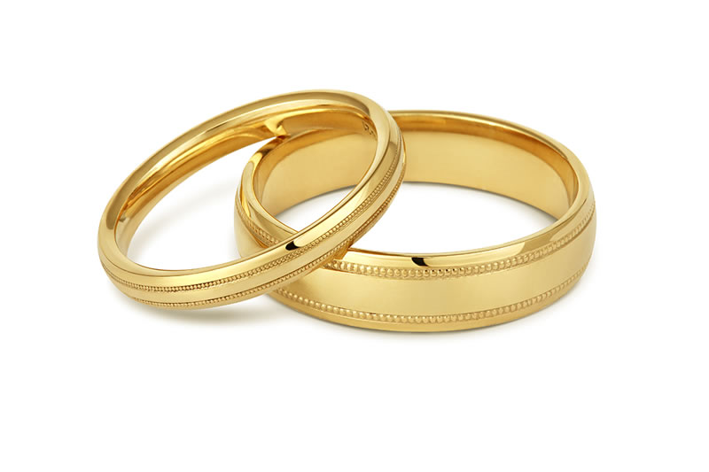 ethical-wedding-fairtrade-Milgrain-wedding-rings