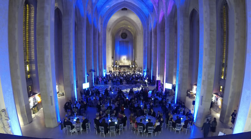 how-to-get-lighting-right-MGN events - Guildford Cathedral event lighting