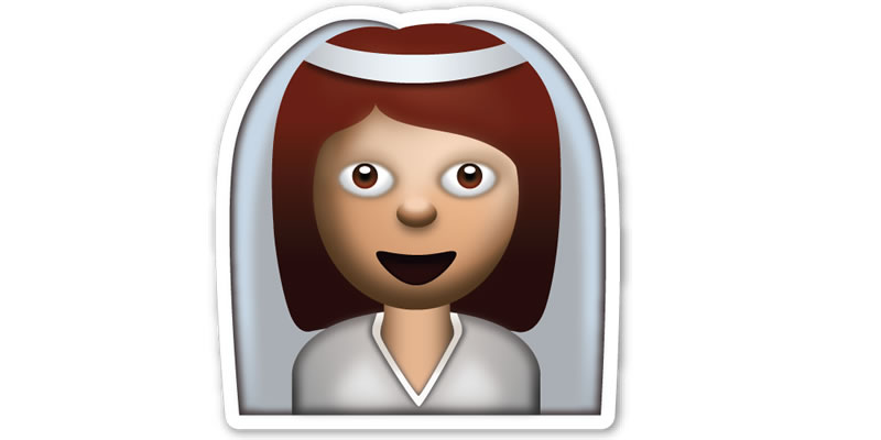 Emoji Proposal Bride