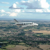 le-touquet-comp-Lyddair aircraft in flight