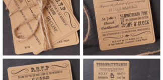 to-have-and-to-hold-rustic-wedding-The Vintage Poster Invitaton