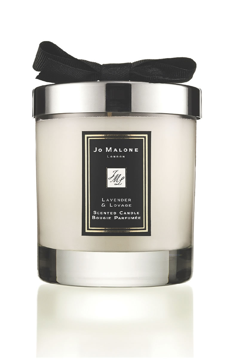 10-ways-to-de-stress-Lavender & Lovage Candle