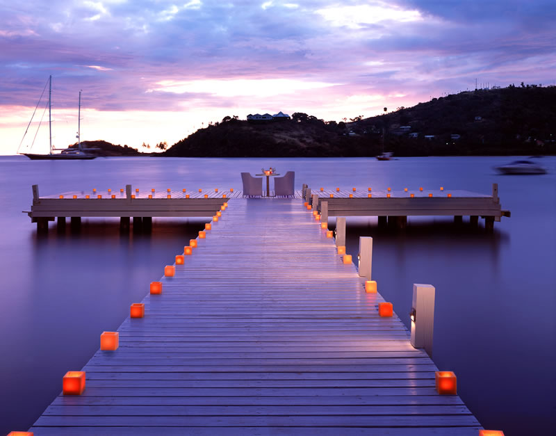 active-honeymoon-Carlisle-Bay-bridge-evening
