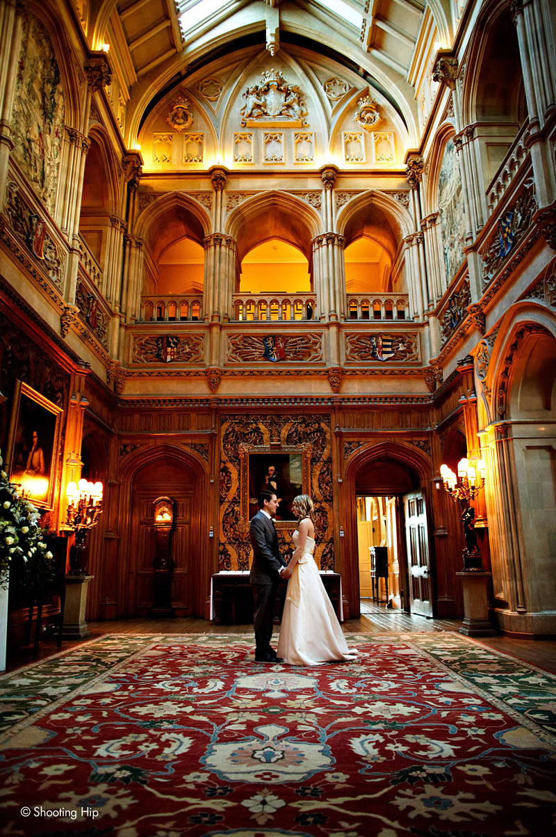 Gothic Wedding Venues Highclere Shootinghip Stafford 221