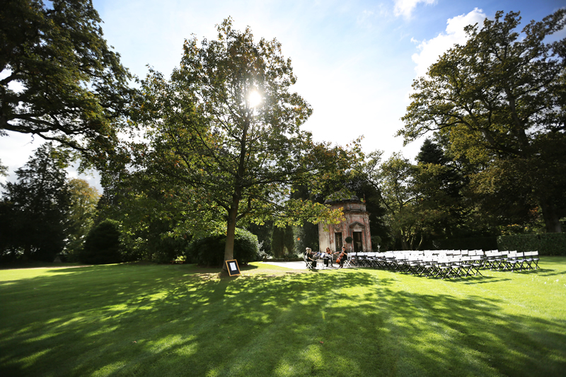 larmer-tree-gardens-All set up for a Temple Ceremony