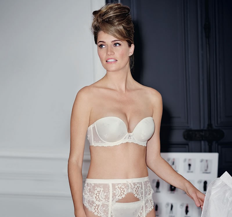Lingerie for EVERY kind of wedding dress