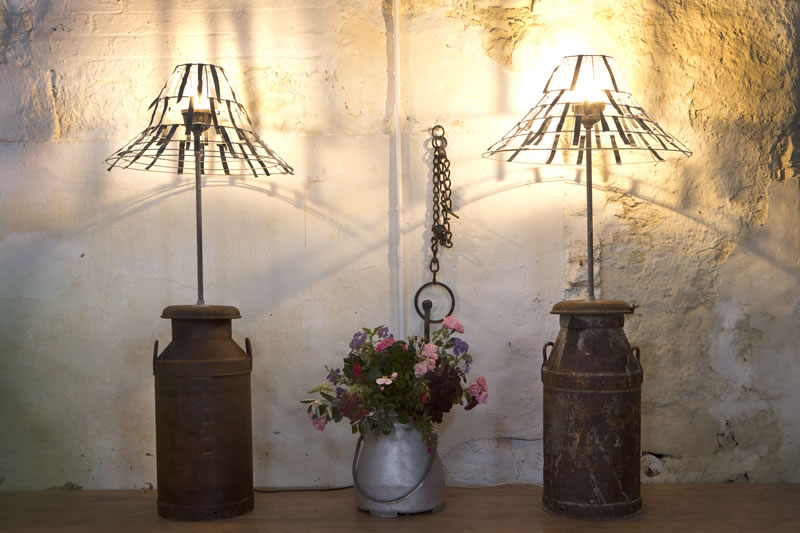 Get-Knotted.net Milk Churn Lights £25 to hire (3)