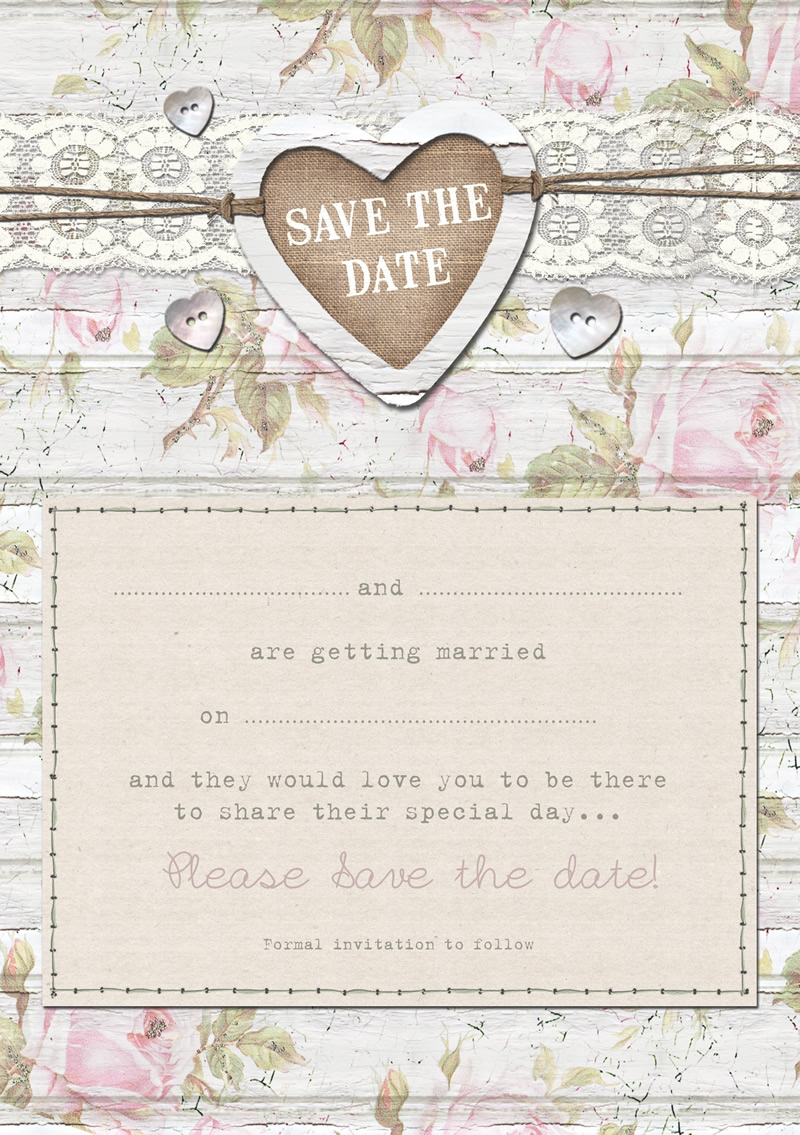 Lucy Ledger - Cape Cottage - Printable Save the Date