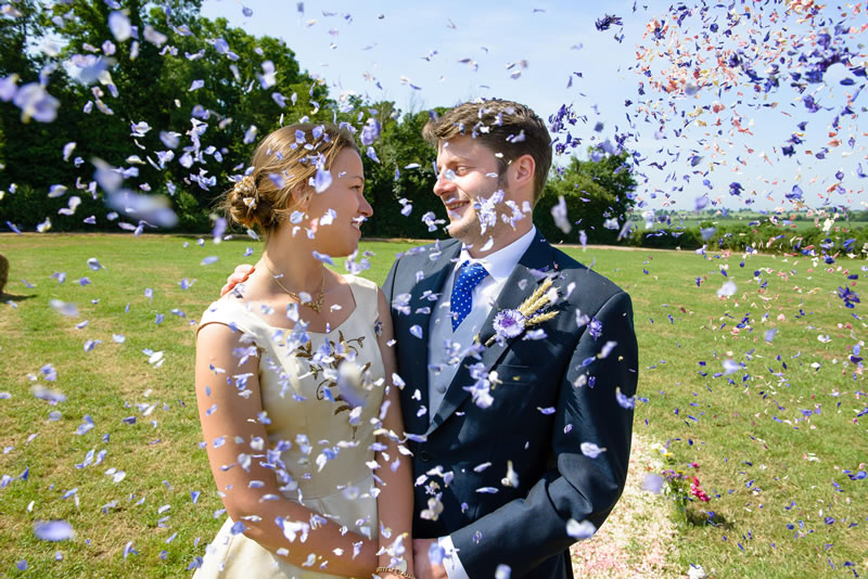 ShropshirePetals.com Confetti over couple from £11.50 per litre
