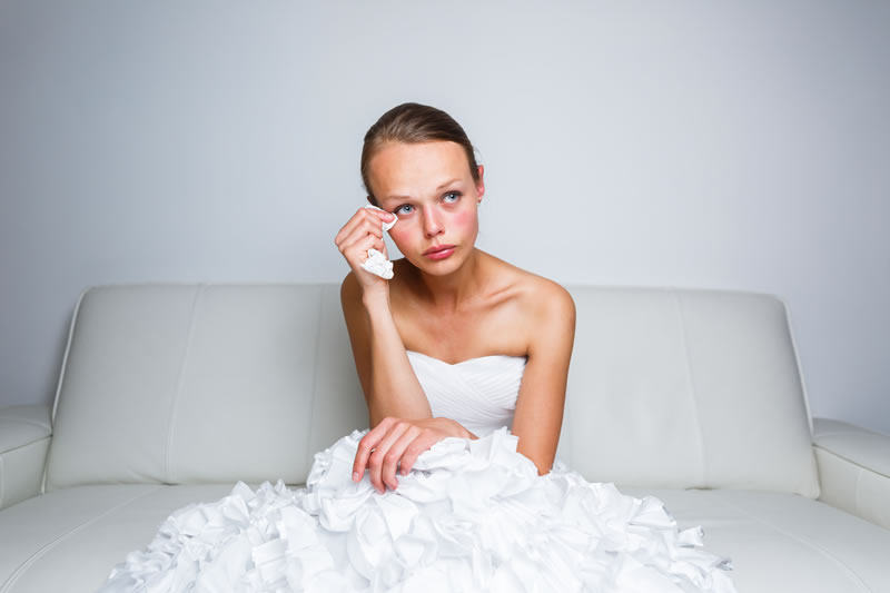 6 Times Being A Bride Isn't Easy