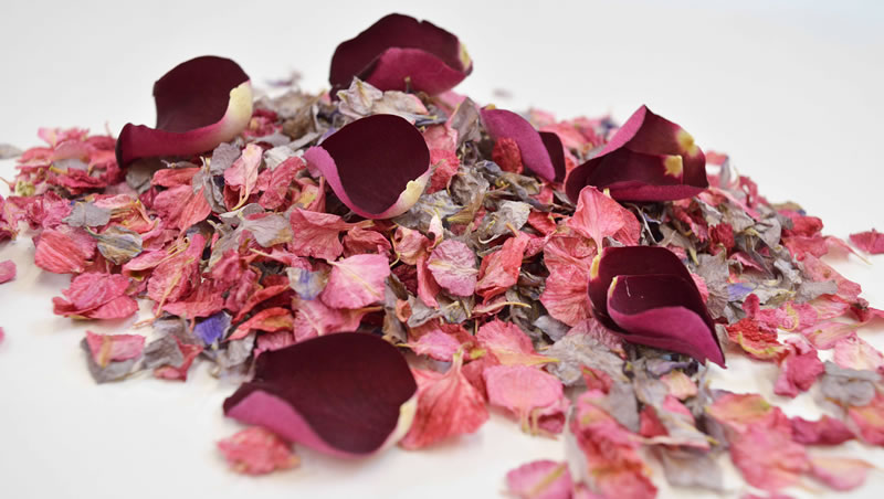 how-to-choose-your-confetti-ShropshirePetals.com Clementine petals £15.95 per litre