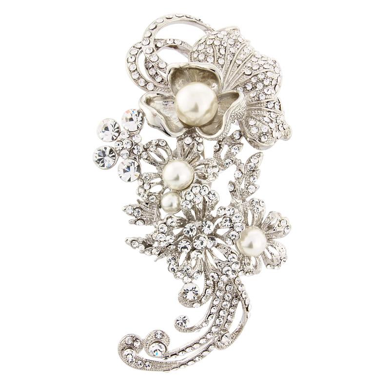 GlitzySecrets.com - Blooms of Elegance Headpiece - £76