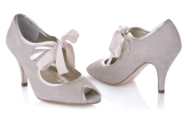 Rachel Simpson - Agnes Blush £165 (pair)