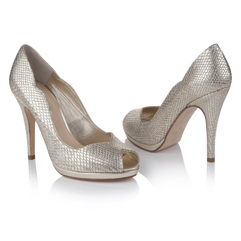 Rachel Simpson - Leonie Gold Snake £190 (pair)