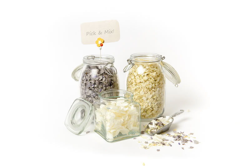 ShropshirePetals.com Pick and Mix - Lady Grey, Daisy Daisy and Icing Sugar from £11.50 per litre each