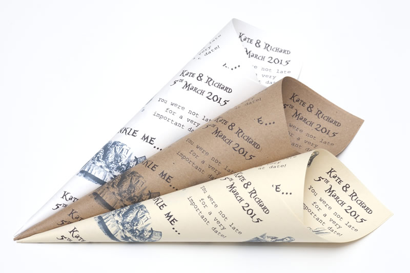 alison-in-wonderland-wedding-theme-confetti-cones.co.uk From £2 alice in wonderland