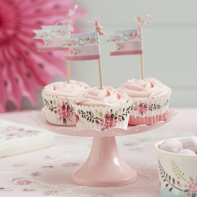 fancy-florals-thelittlelovebird.uk FF-207 Cupcake Cases
