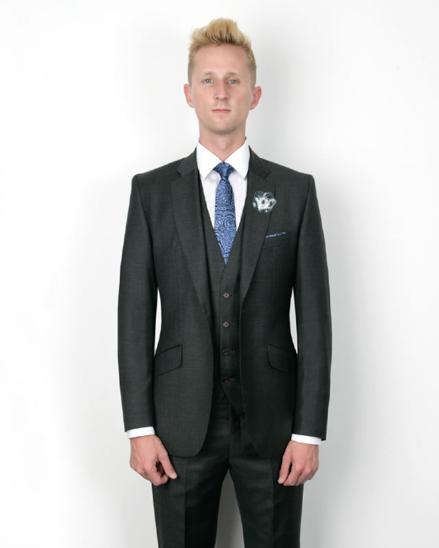 marc-wallace-suit-rules-Grey Marc Wallace Tailored 3 Piece Suit