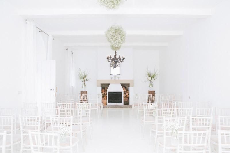 Brinkburn priory white room