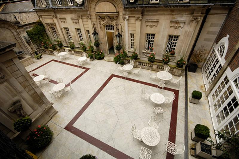 Dartmout House Courtyard