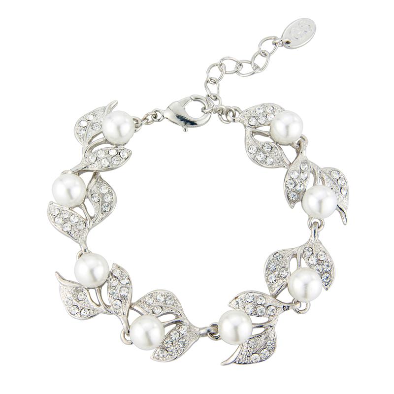 GlitzySecrets.com - Vine of Pearl Bracelets - £23