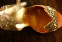 Gold in Gold Heel