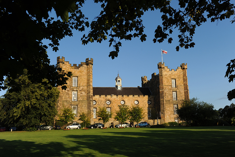 budget-wedding-Lumley Castle Exterior Day