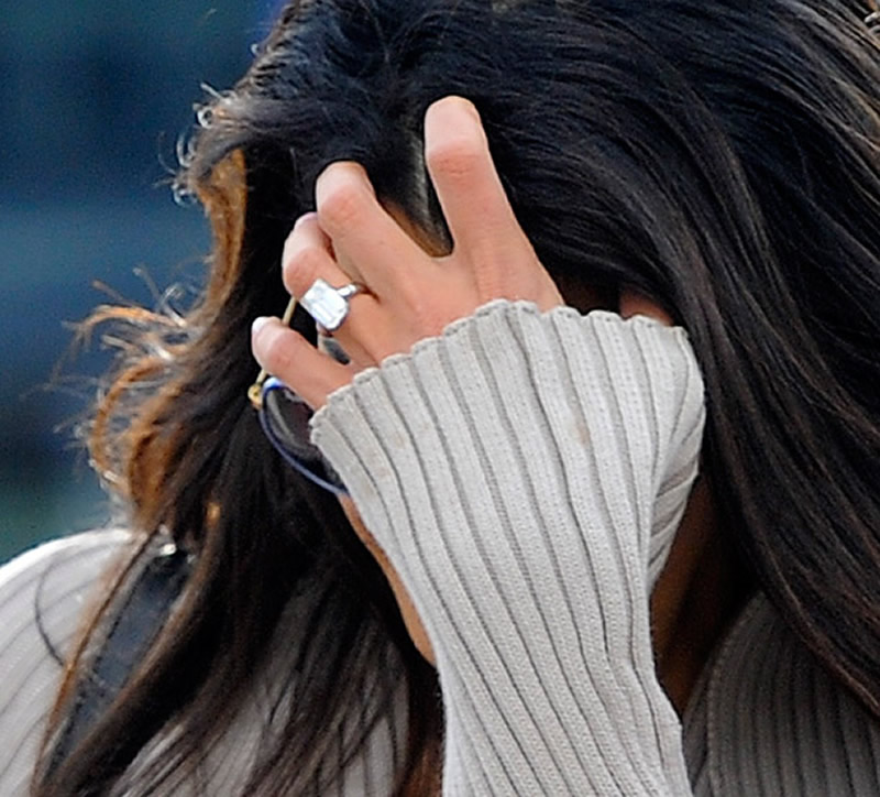 Celebrity Engagement Rings Amal Clooney