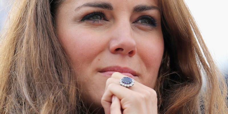celebrity-engagement-rings-Kate middleton
