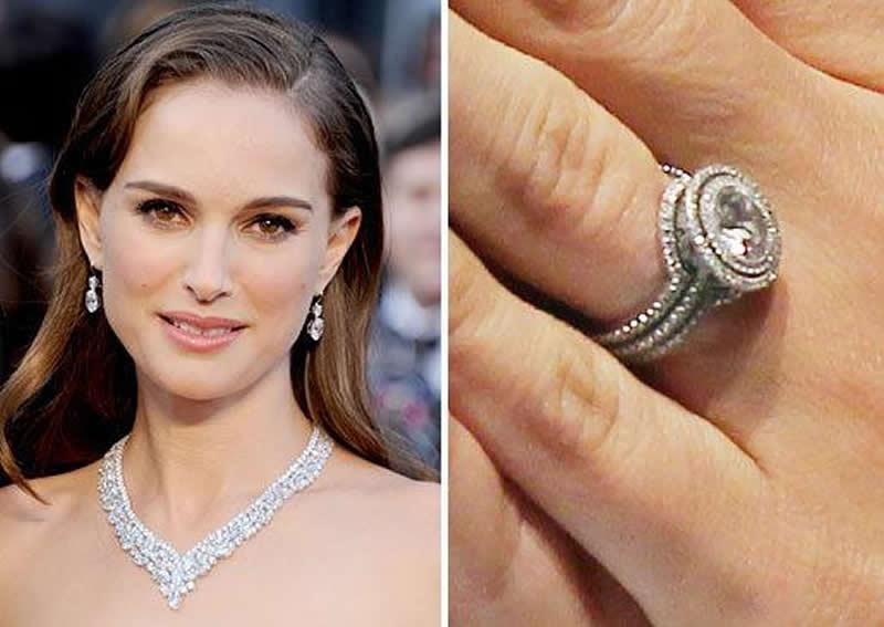 celebrity-engagement-rings-Natalie Portman