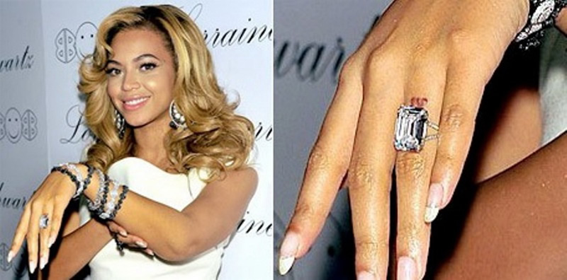 celebrity-engagement-rings-beyonce