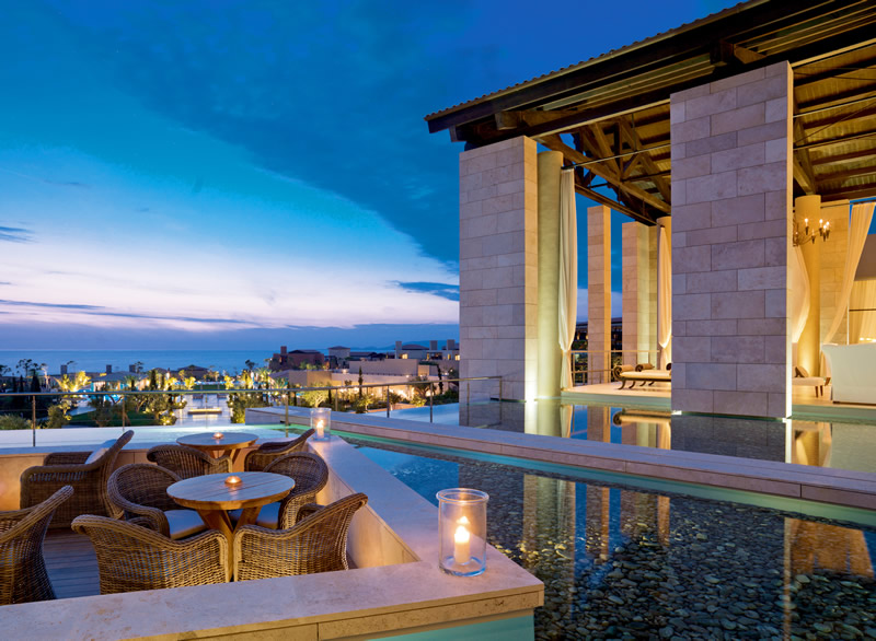 costa-navarino-The Romanos, Anax Lounge & Lobby