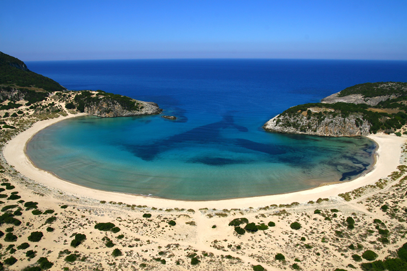 costa-navarino-Voidokilia Beach1