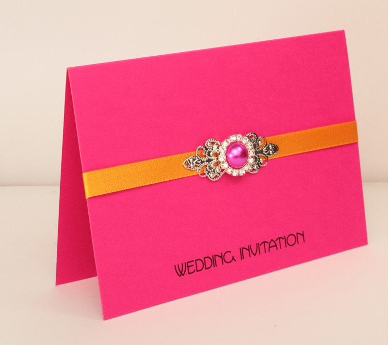 Stand Out From The Crowds With A Hot Pink Wedding Theme