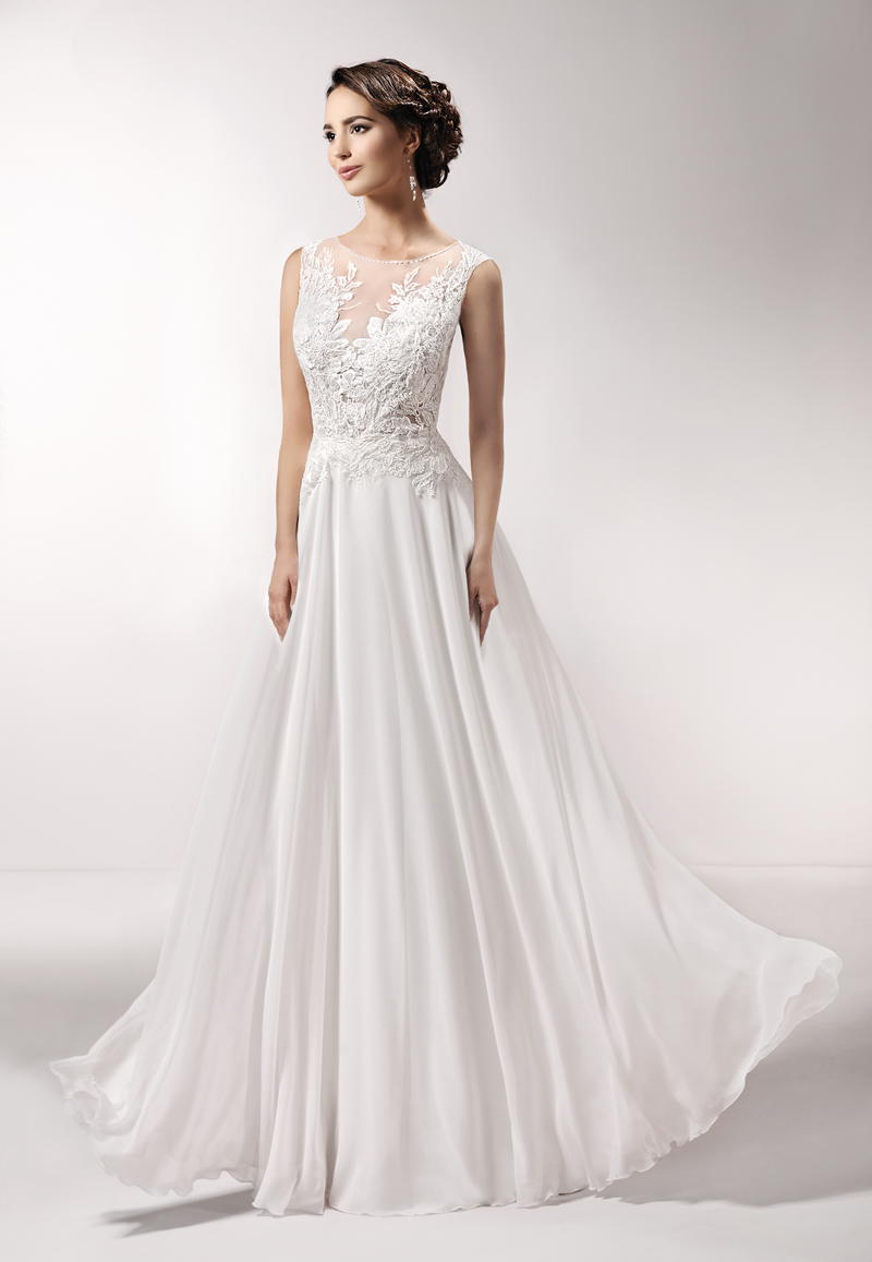 Create the wedding day of your dreams with these breathtaking dresses from the new Agnes 2016 collections