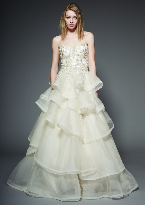 The sensational new collection of dresses from Badgley Mischka has arrived!