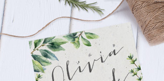 Homemade botanical invites - How to Make Your own Wedding Invitations in 10 Easy Steps