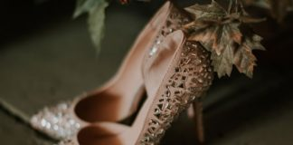 pick the perfect wedding shoes