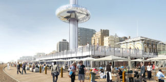 British Airways i360 beach building including brasserie HR_Credit British Airways i360