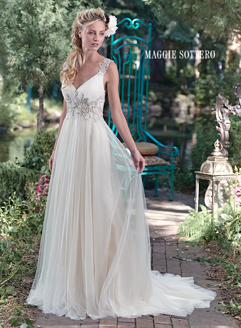 Maggie Sottero reveals their exquisite brand new dress collection for spring 2016.