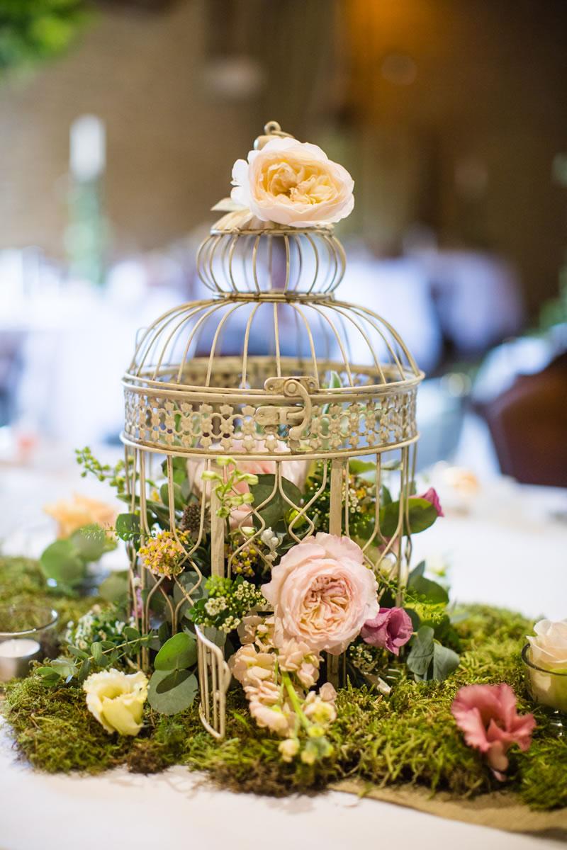 A Beautiful Wedding With An Enchanted Garden Theme