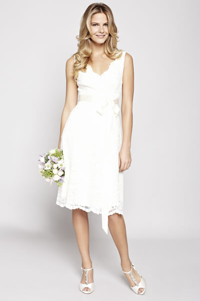 BHS bridal collection Bella lace short