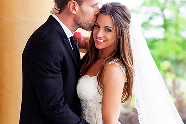 The Bell Inn best bride and groom post bride