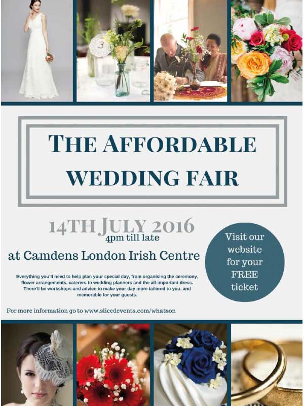 affordable wedding fair