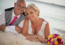 Gemma and Leigh tie the knot in a tropical wedding in the Dominican Republic