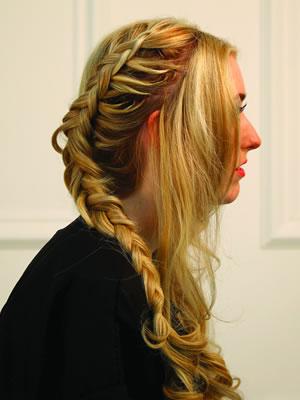 milkmaid braidsstep1