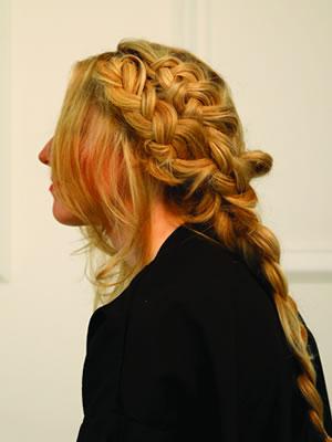 milkmaid braidsstep6