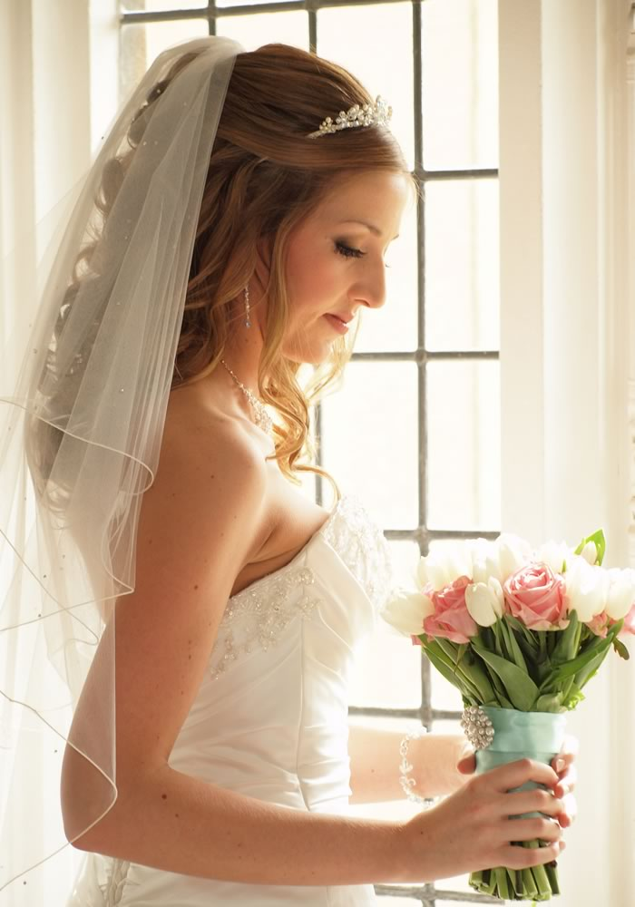 Wedding Hair Styles: The Ultimate Guide hair half up half down down with veil