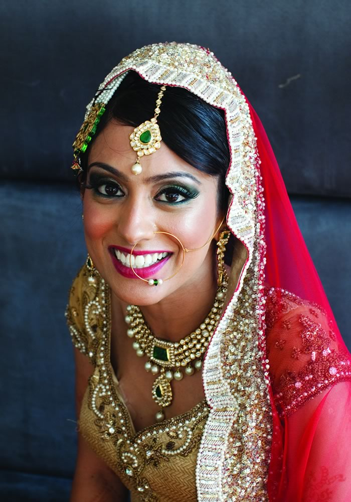 Wedding Hair Styles: The Ultimate Guide hair down with hindi veil ghoonghat