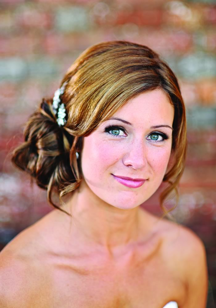 Wedding Hair Styles: The Ultimate Guide up do side bun